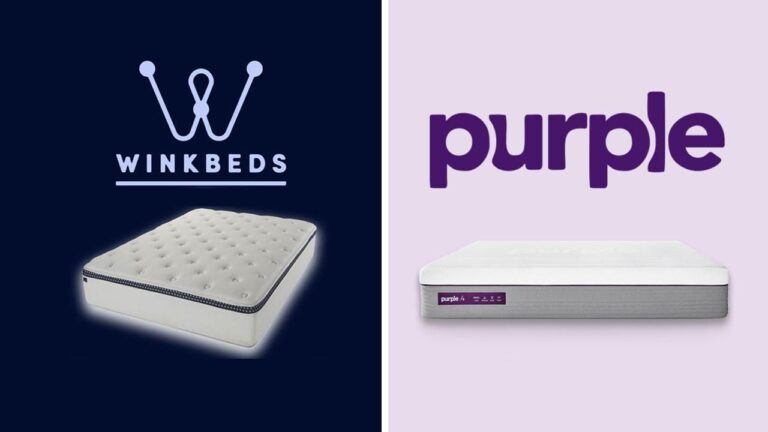 WinkBed vs Purple Mattress