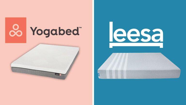 Yogabed vs Leesa Mattress