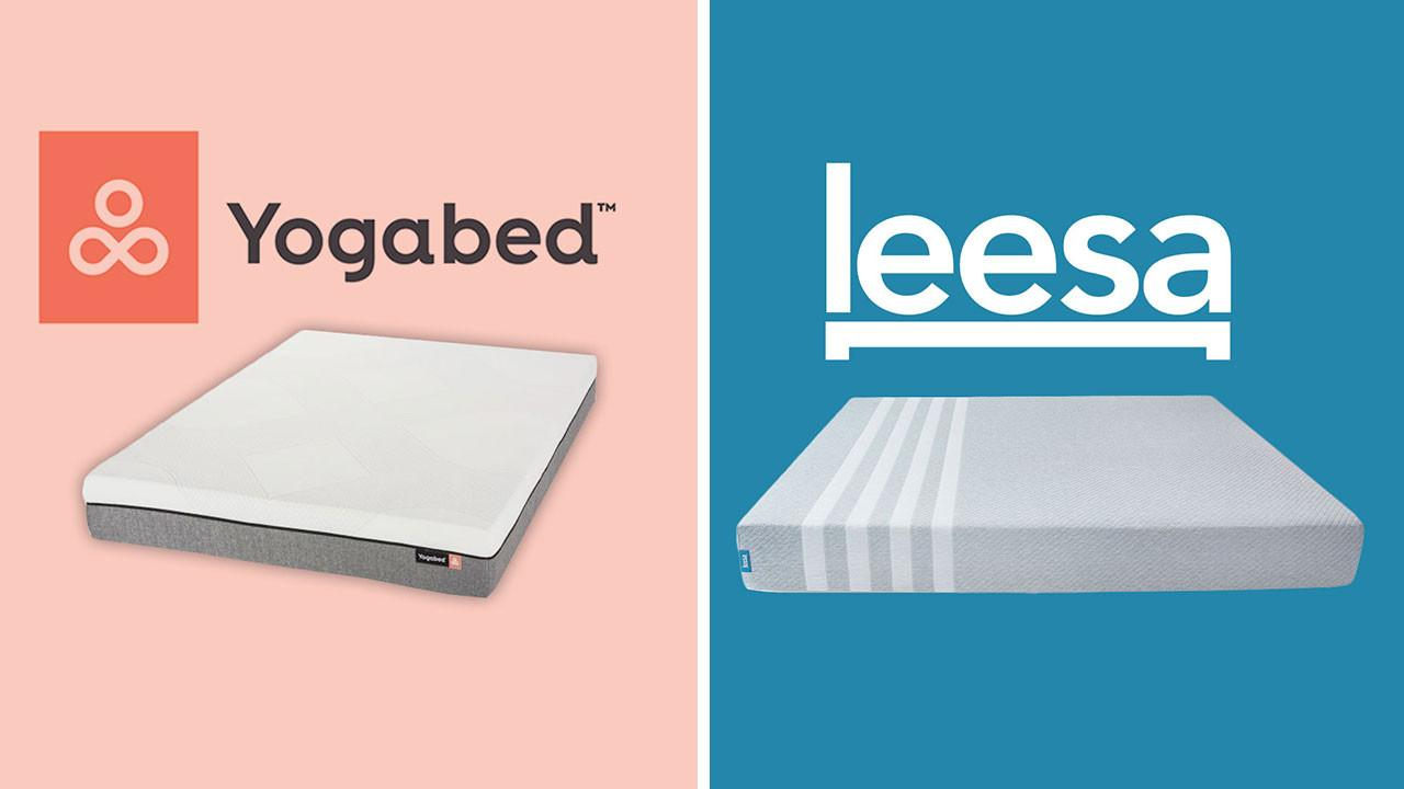 Yogabed vs Leesa Mattress