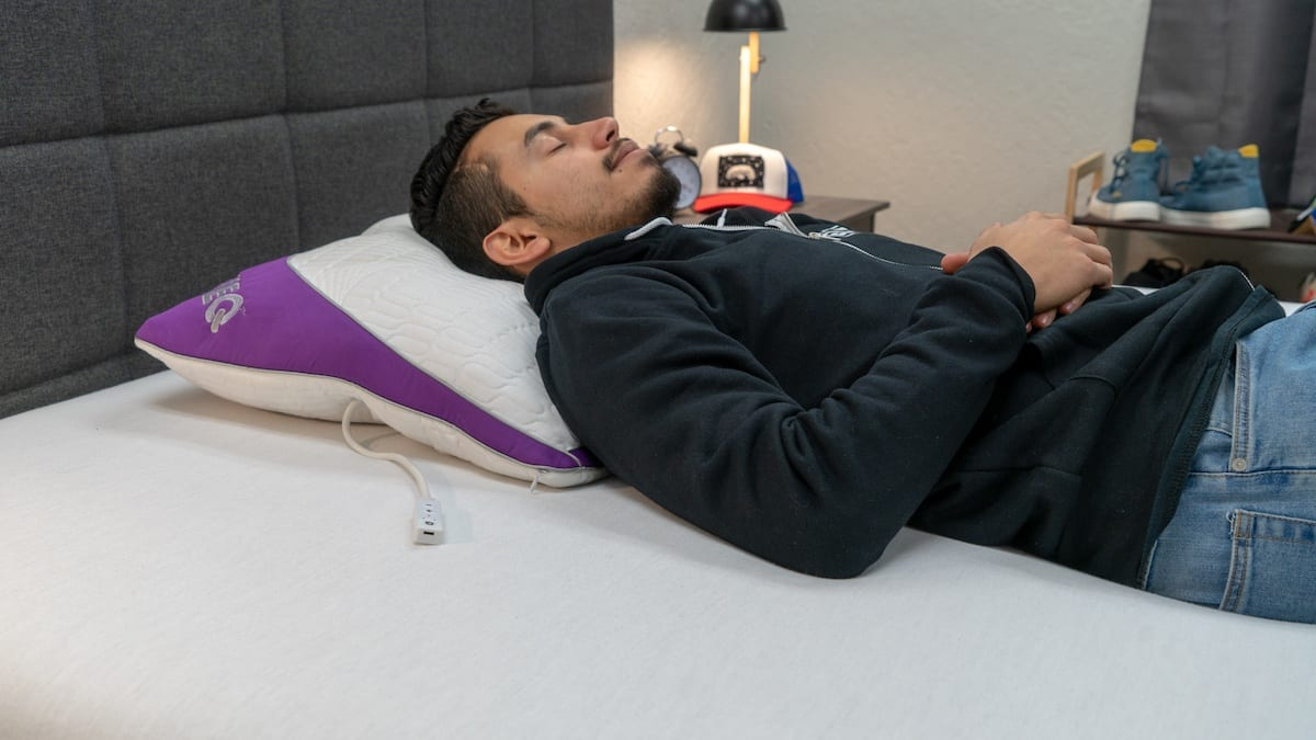 zeeq smart pillow review back sleepers
