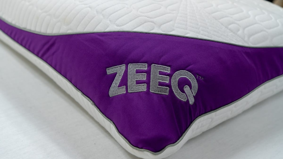 zeeq smart pillow review logo