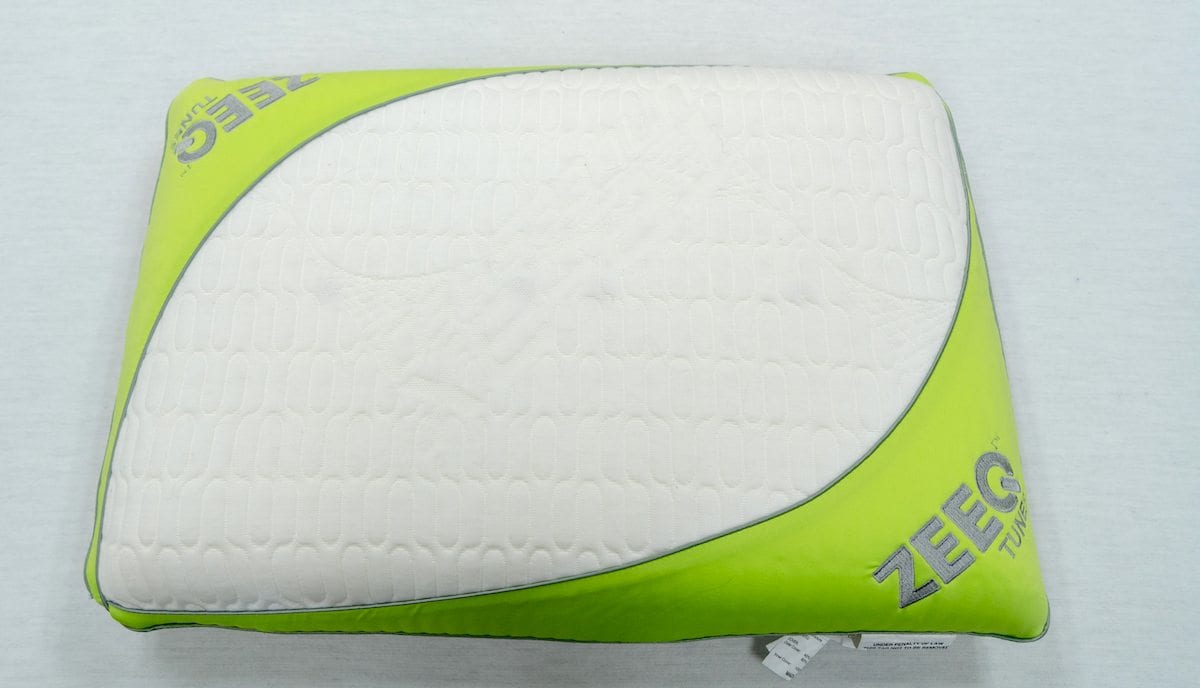 zeeq smart pillow review by rem fit tunes pillow