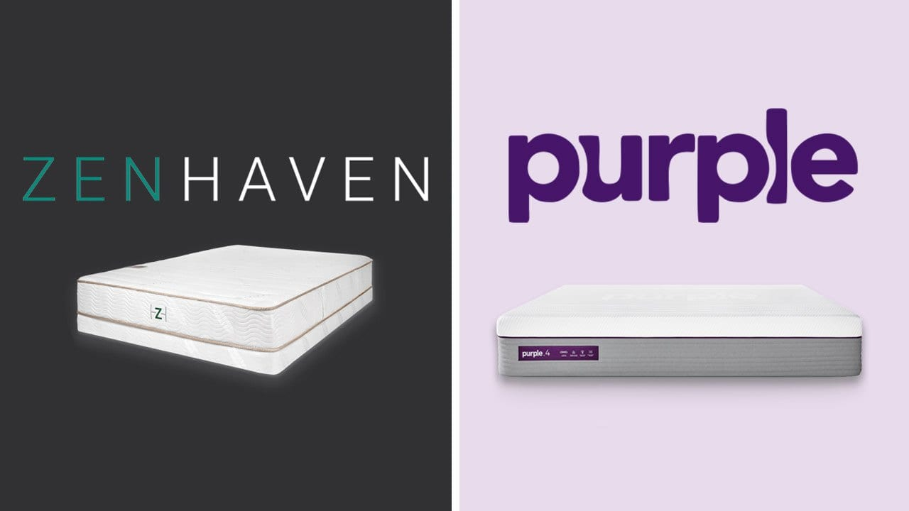 Zenhaven vs Purple Mattress