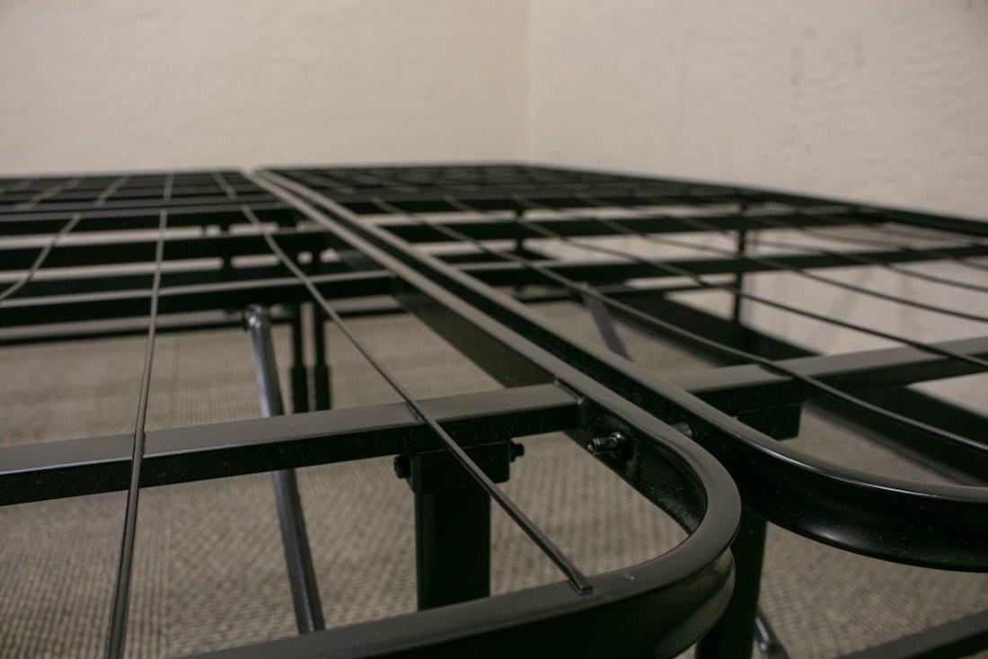 zinus bed frame review smartbase platform bed