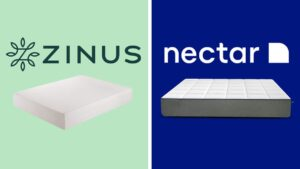 zinus vs nectar mattress review comparison