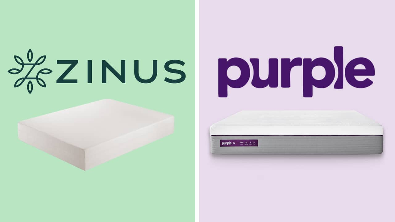 Zinus vs Purple Mattress